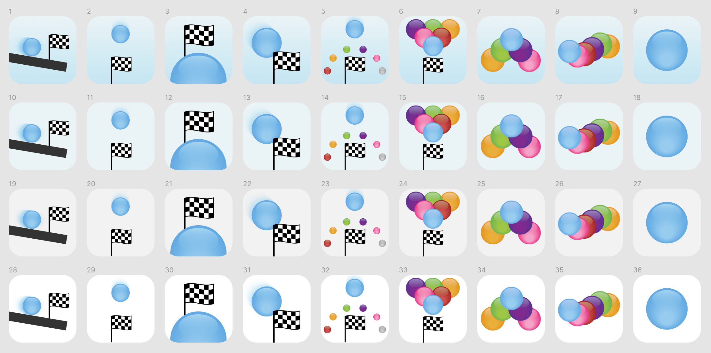 Ideas for new Bubble Ball Icon